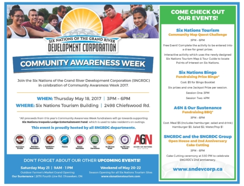 SNGRDC Community Awareness Week- May 18 from 3-6PM