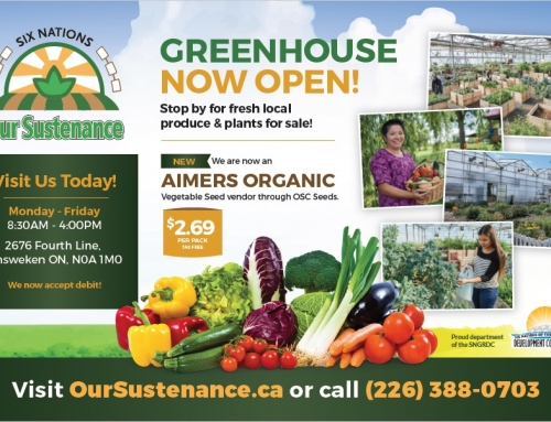 Our Sustenance Greenhouse Now Open