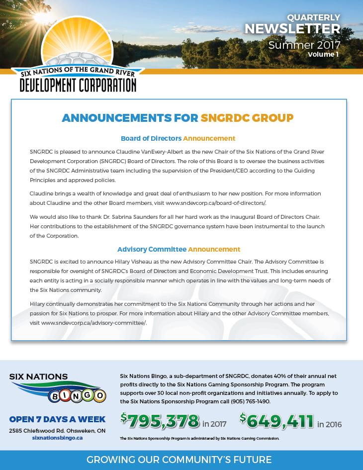 SNDC Newsletter Summer2017 Volume01 V6 WEB Preview