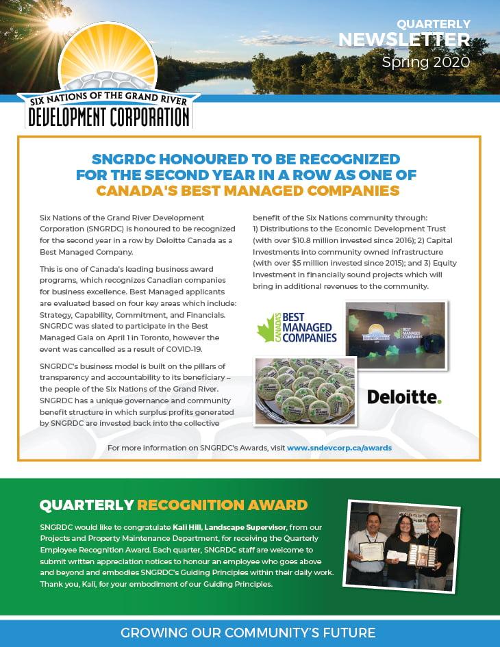 SNGRDC 2020 Spring Newsletter V4 WEB Preview