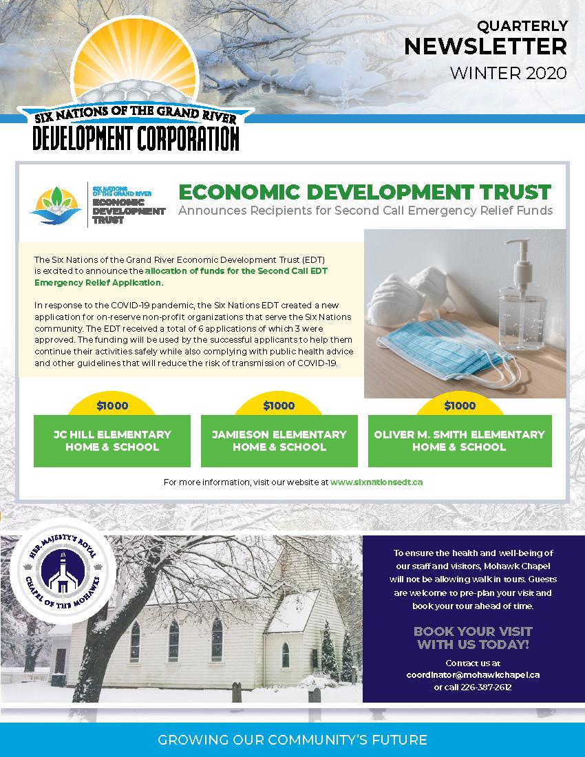 SNGRDC 2020 Winter Newsletter V2 DIGITAL Page 1
