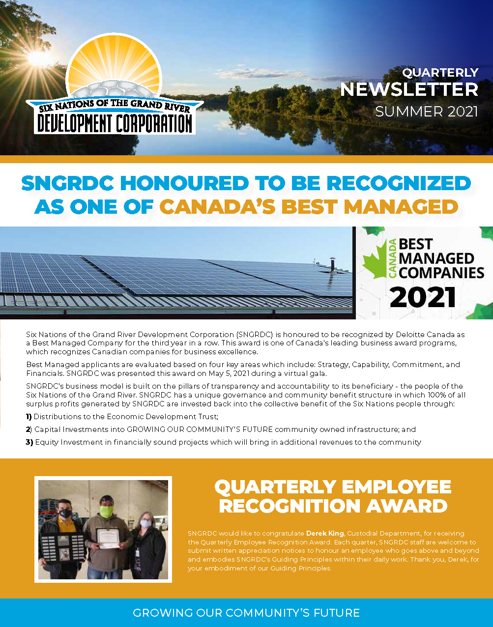 Summer 2021 Newsletter Cover
