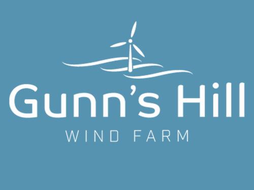 Gunn's Hill Wind Farm Logo